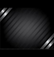 classy silver background vector image vector image