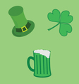 Elements - St Patricks Day vector image vector image