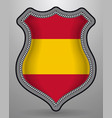 flag of spain without coat of arms badge and icon vector image