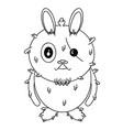 rabbit-character vector image
