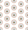 seamless pattern from sushi vector image