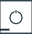 switch icon simple vector image vector image
