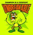 unbreakable vector image vector image