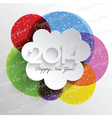 abstract background design for new year vector image vector image