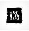 Black friday sale Clearance vector image