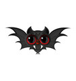 cartoon bat halloween vector image