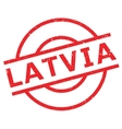 Latvia rubber stamp vector image vector image