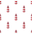 lighthouse icon in cartoon style isolated on white vector image