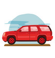 off road family car vector image vector image