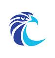 eagle head logo image vector image