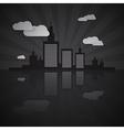 Night City Scape vector image