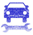 car repair grunge textured icon vector image vector image