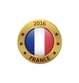 France 2016 label vector image