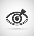 icons of the human eye vector image vector image