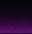 purple abstract dot pattern background - graphic vector image vector image