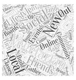 The Social Vegetarian Word Cloud Concept vector image vector image