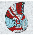 Abstract Bright Shell vector image