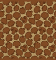 vintage seamless texture with agaricus for your vector image