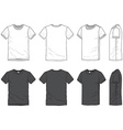 Blank t-shirt vector image vector image