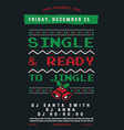 christmas party flyer magazine cover and poster vector image