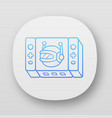 game bot app icon artificial intelligence vector image