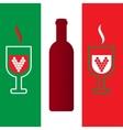 Italian enoteca vector image
