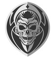 memorable skull design art vector image