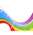 Multicolor abstract background vector image vector image