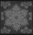 sample christmas wrapping paper gray color the vector image vector image