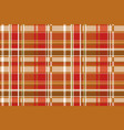 seamless checkered pattern in scottish style vector image vector image