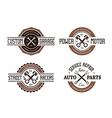 Auto Emblems vector image vector image