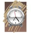 clock alarm vector image vector image