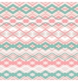 cross zigzag seamless pattern vector image vector image
