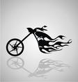 Motorcycle Tribal vector image