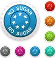 No sugar award vector image vector image