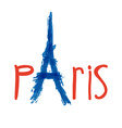 Paris design vector image vector image