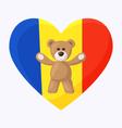 Romanian Teddy Bears vector image