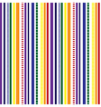 Stripes Seamless pattern Rainbow colors pattern vector image vector image