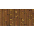 wooden cracked planks vector image vector image