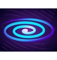 Abstract background with spiral vector image