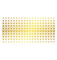airplane gold halftone pattern vector image vector image