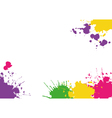 Background with blotches vector image vector image