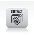 contract icon vector image vector image