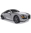 elegance car vector image vector image