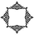 Elegant decorative frame vector image