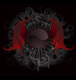 gothic banner vector image vector image