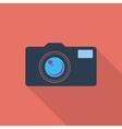 Icon vintage camera vector image vector image