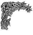 jasmine branch vector image