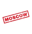 Moscow Rubber Stamp vector image vector image