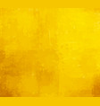 yellow grunge paint background vector image vector image